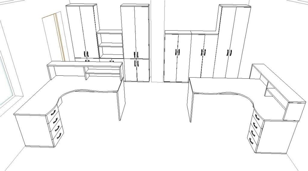 план расстановки мебели в